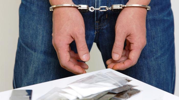 Задержанный по статье 228 УК РФ