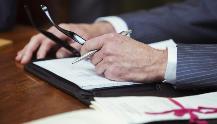 Подготовка заявления